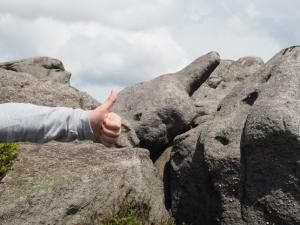 The Thumbs Up Stone