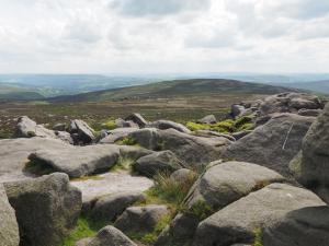 Looking towards Carncliff Top from Simon's Seat
