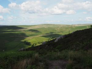 Rear Clouts at the head of the Skyreholme valley