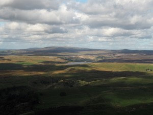 Grimwith Reservoir and Great Whernside