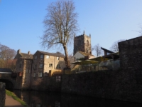 Holy Trinity Church from Springs Canal