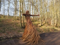 The super whicker archer in Skipton Castle Woods