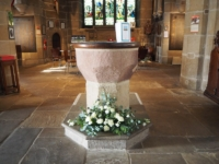 The church font