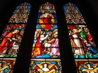 The Window of the Ministry and Ascension of Jesus