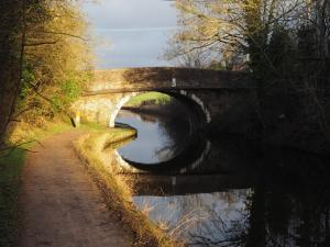 A bridge over the canal