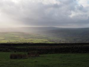 Boulsworth Hill and Airedale