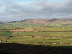 Looking towards Crookrise Crag and Embsay Crag