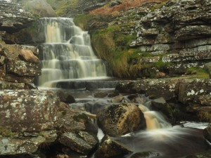 A waterfall in Slei Gill