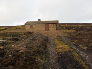 The shooting hut on Booze Moor
