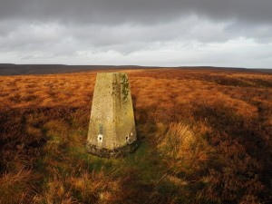 The Booze Moor trig point