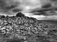 The sprawling cairn on the top of Pot Scar