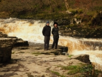 Tony and Sam at Stainforth Force