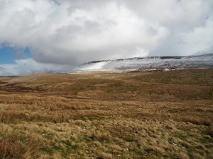 A snow topped Plover Hill