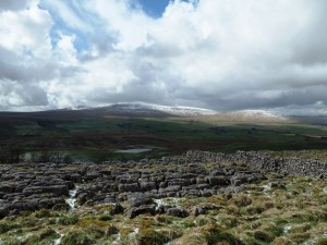 Ingleborough, Simon Fell and The Tarn from the Pennine Way