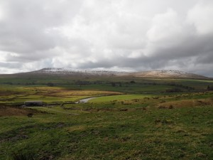 Simon Fell and Park Fell above the River Ribble