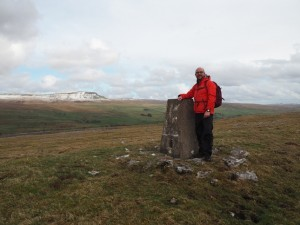 By the Sulber trig point