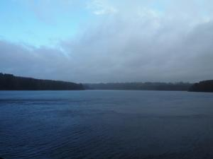 A hint of blue sky over Swinsty Reservoir