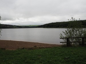 A cloudy morning over Swinsty Reservoir
