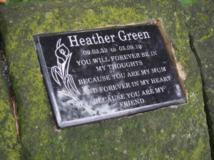 Heather Green memorial