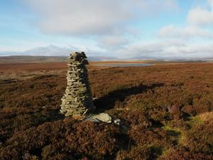 The beacon on Tarn Rigg