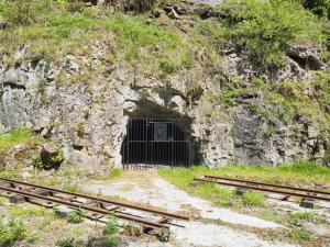 Underground storage areas for the old quarry