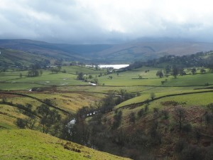 The River Bain and Semerwater