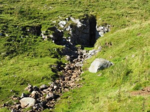 The cave at the head of Dry Gill
