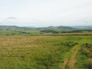 Looking back at Flasby Fell