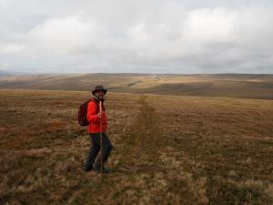Yours truly near the head of West Stonesdale
