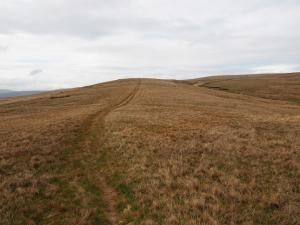 The path along Thomas Gill Rigg