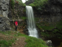 Alongside my favourite of the three larger waterfalls in Buckden Gill
