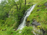 The third of the three higher waterfalls in Buckden Gill