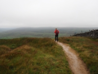 Descending Buckden Pike