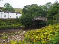 Hubberholme Bridge and the George Inn