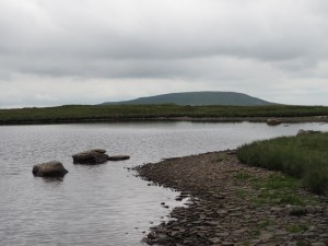 One of the Whernside Tarns