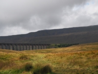 Whernside and Ribblehead from where I parked my car