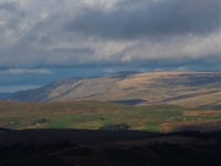 A view of High Seat above Mallerstang