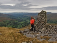 By another cairn with a great view of Dentdale