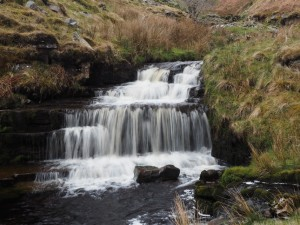 A small waterfall on Force Gill