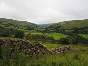 Soon after leaving Low Houses the views opened up across Swaledale