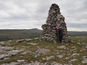 By the superb cairn above Ravens Scars