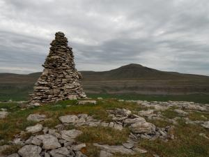 Cairn above Twistleton Scars