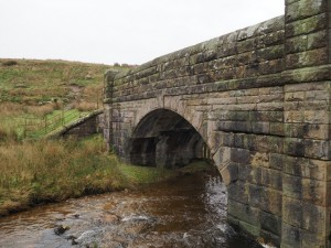 The bridge at the head of the reservoir