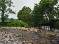 The confluence of the Cowside Beck and the River Skirfare