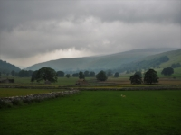A cloudy morning in Littondale