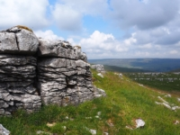 Another limestone outcrop on Middle House Hill