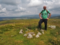 On the summit of Parson's Pulpit
