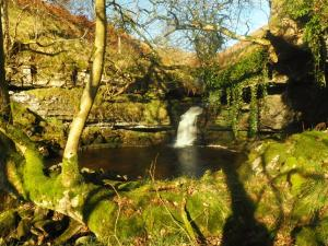 The first waterfall I came across in Deepdale Gill