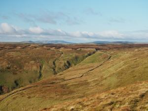 Looking back at the head of Deepdale Gill