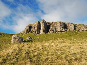 The upper crag of limestone